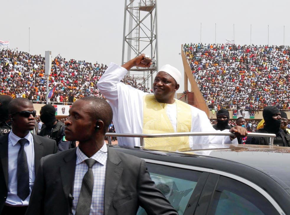 President Adama Barrow vowed to revive the fortunes of Gambia at his inaugeration