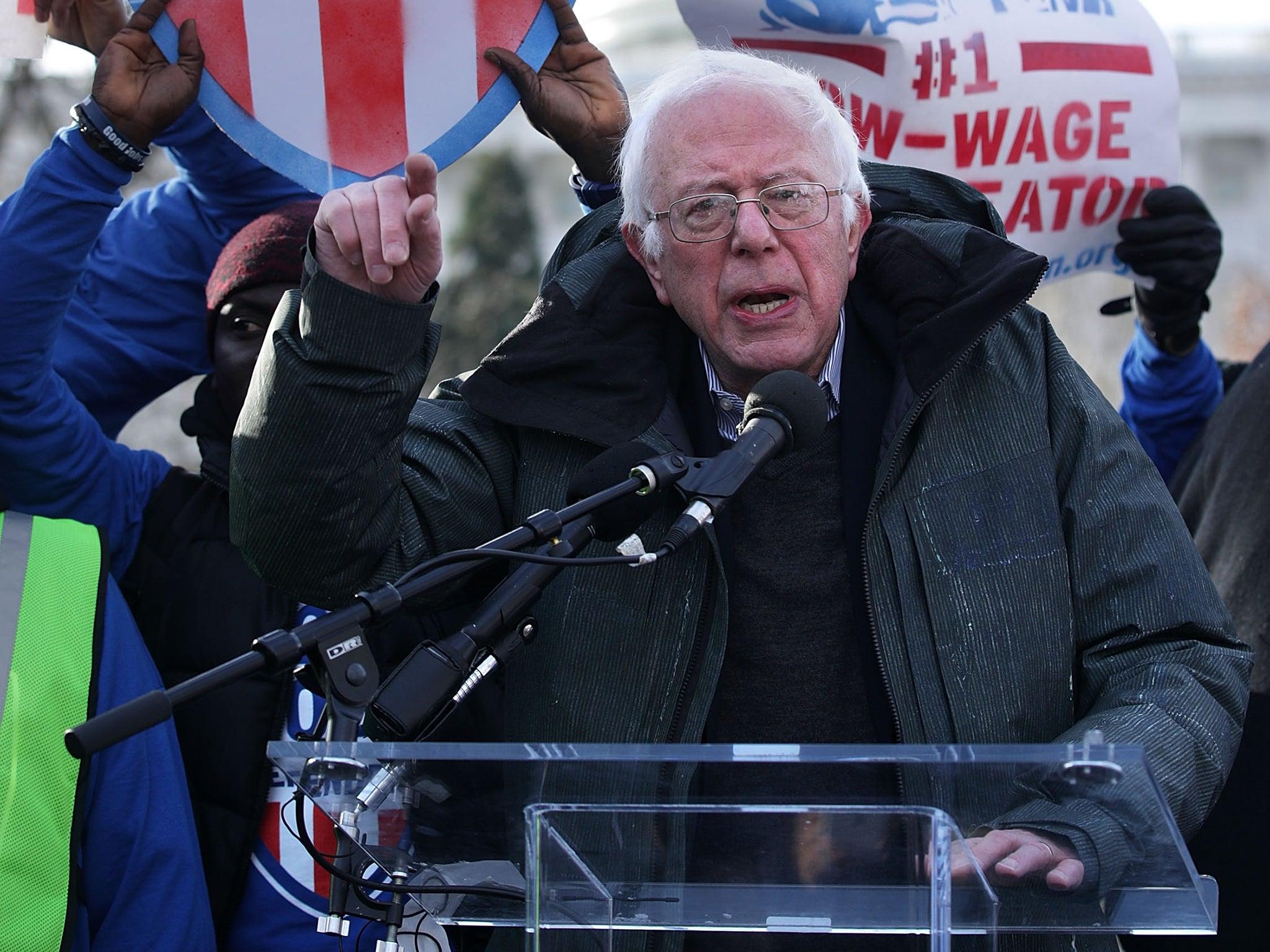 Bernie Sanders says Donald Trump administration is 'totalitarian'