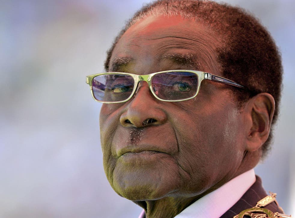 After four decades in power, Zimbabwe's President is now under house arrest following an army takeover