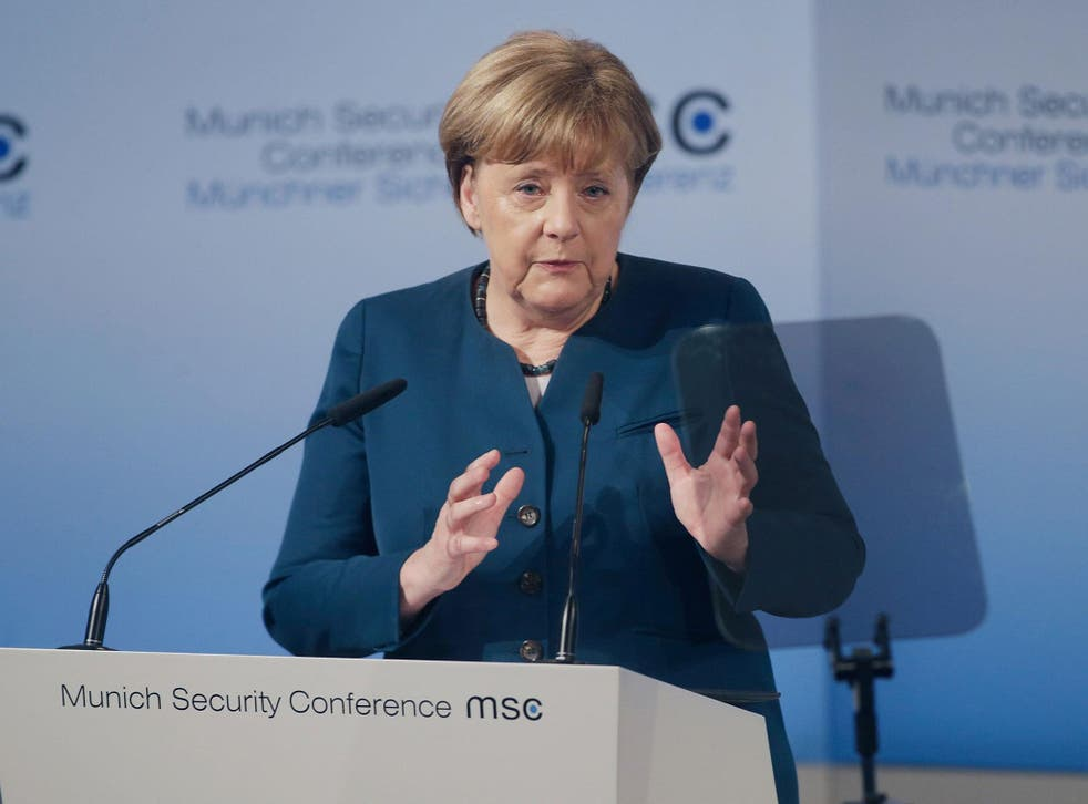 Angela Merkel also called on Europe and its allies to cooperate with Russia in the fight against Isis