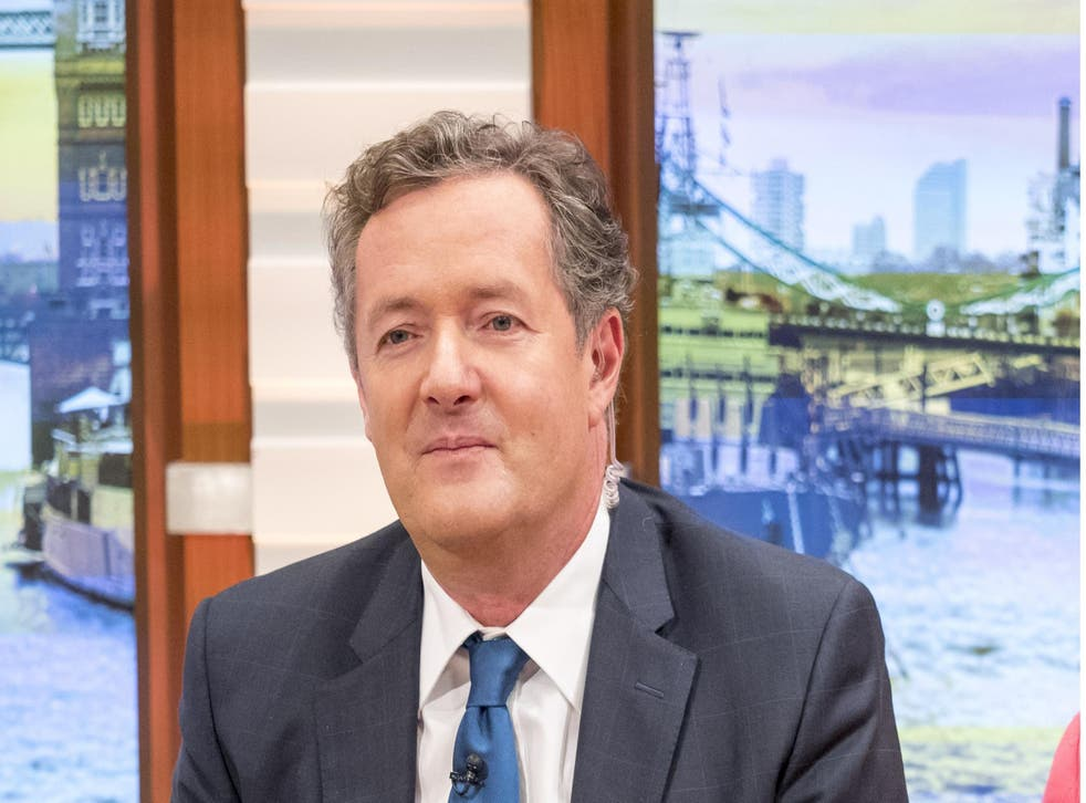 ITV's Good Morning Britain presenter Piers Morgan