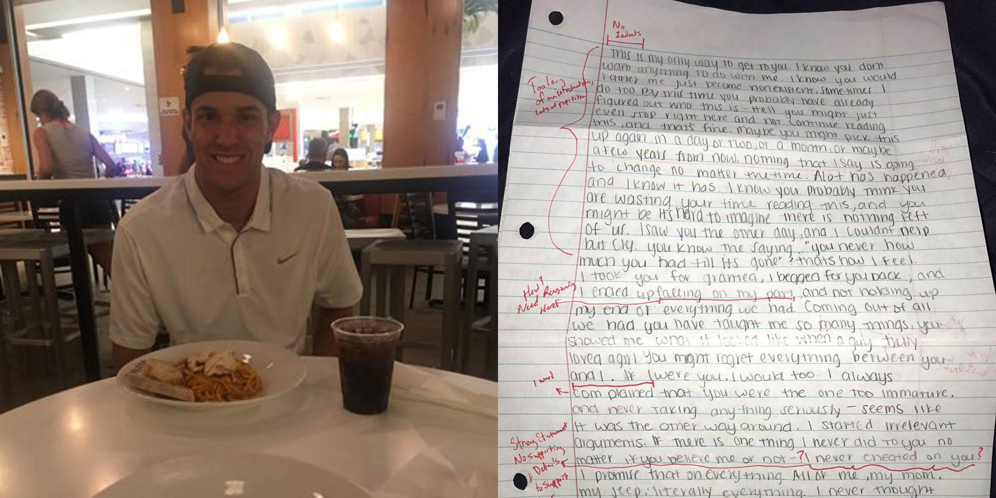Admirable people essay about letter
