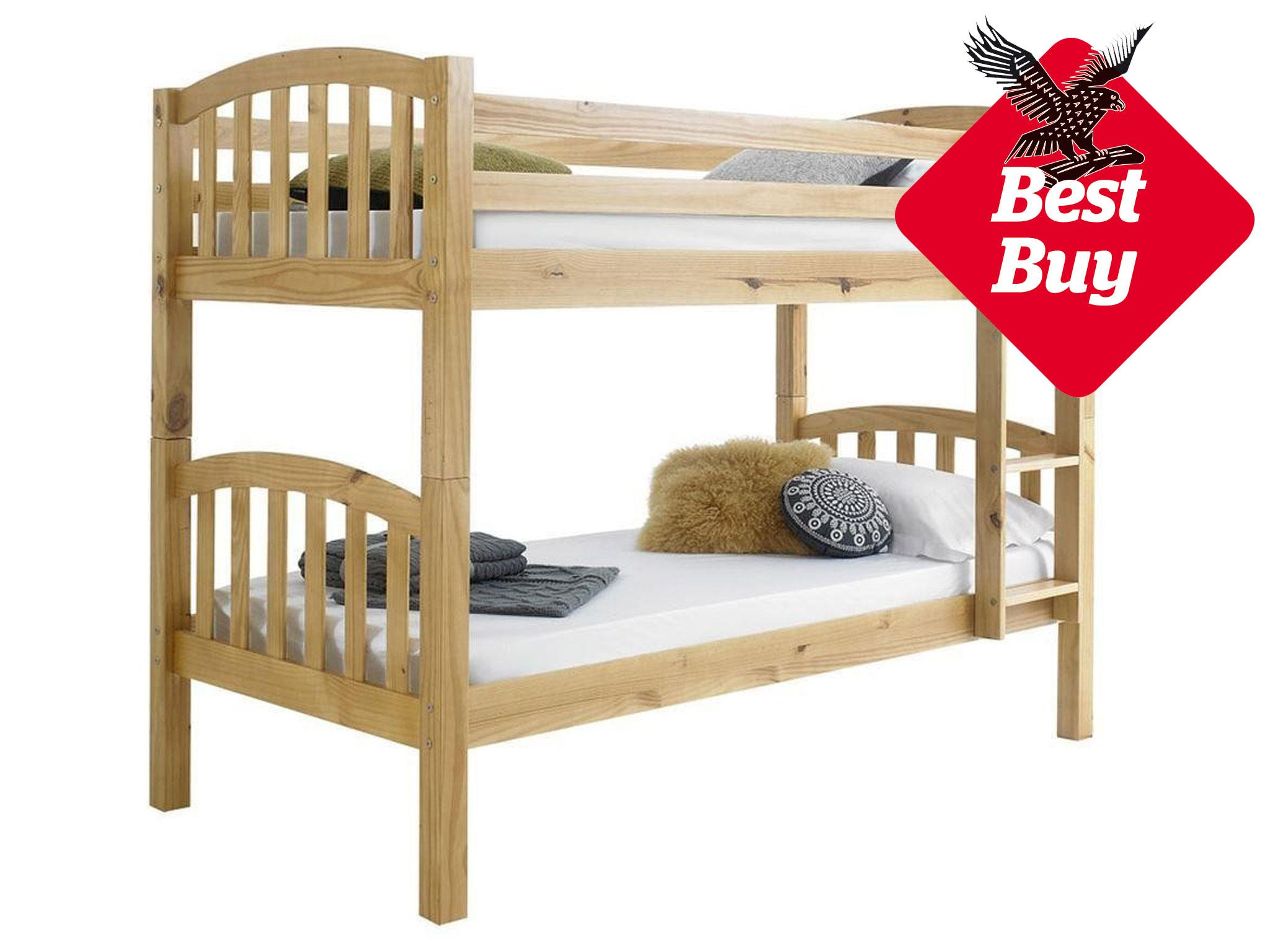 Elegant Happy Beds American Wood Bunk Bed: £199.99, Happy Beds