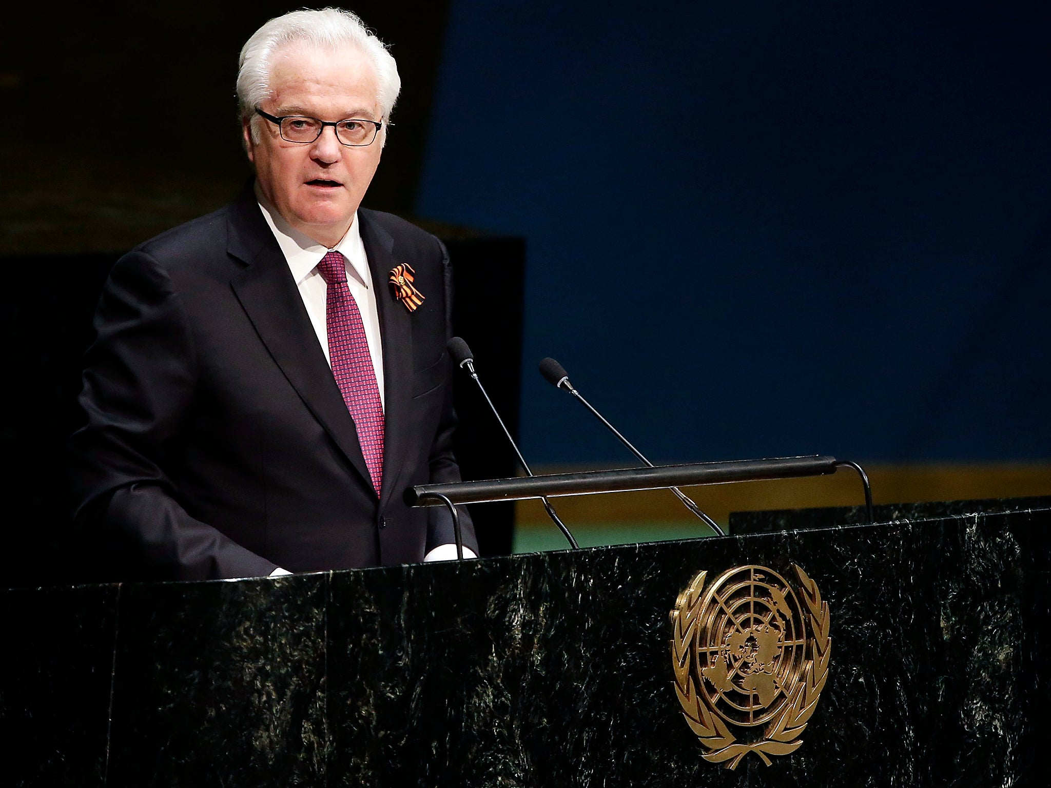 Russian ambassador to UN dies suddenly in New York The Independent