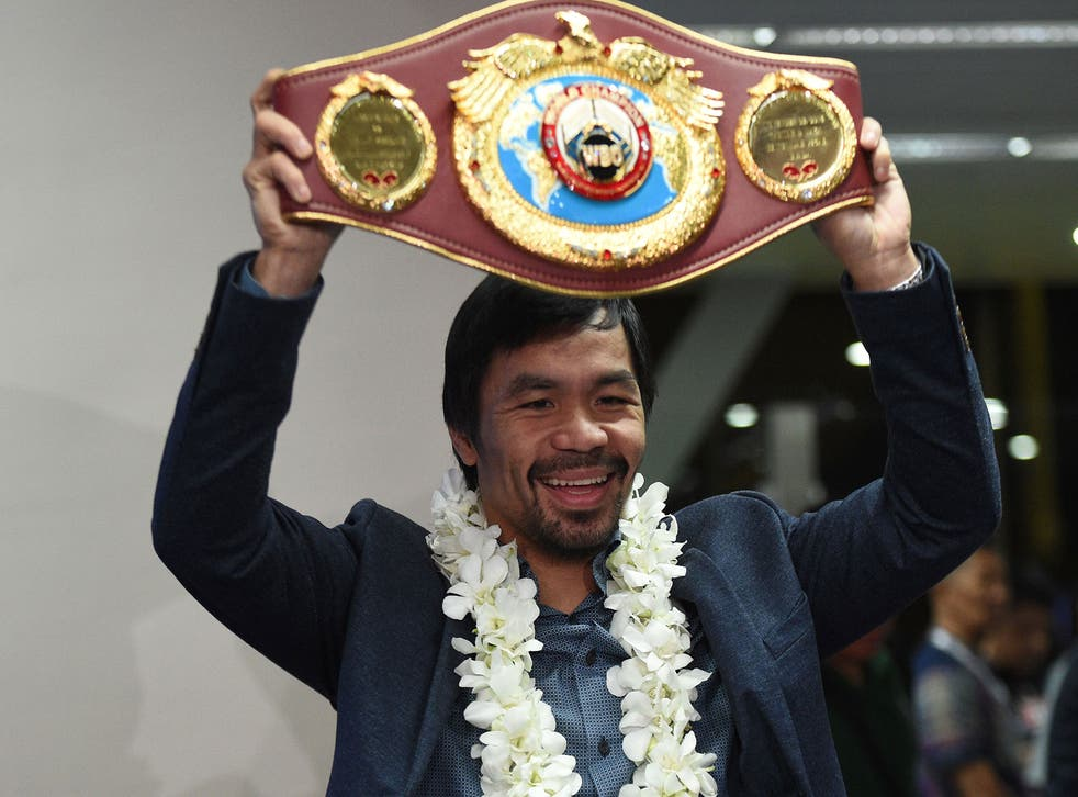 Manny Pacquiao has not agreed a deal to fight Amir Khan, says his promoter Bob Arum