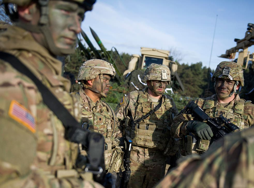 The unit will be part of 4,000 US troops deployed in rotation along Nato's eastern flank