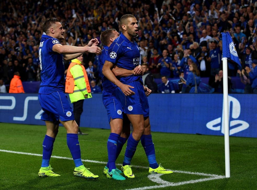 Leicester head into Wednesday night's Champions League tie against Sevilla on the back of a comfortable group stage campaign