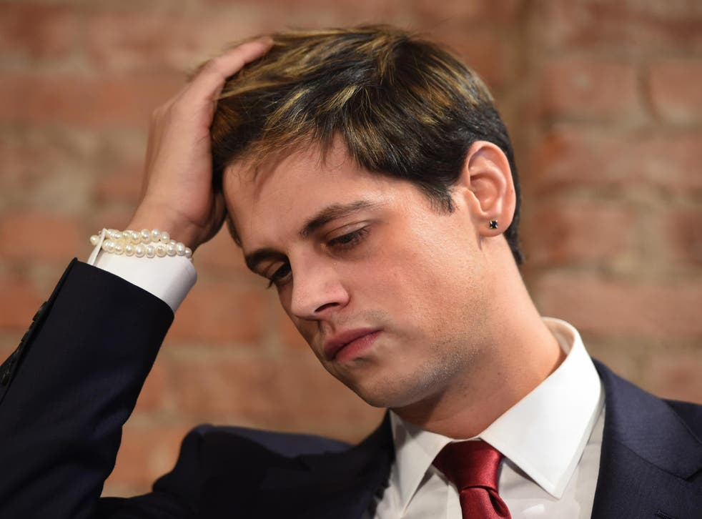 PR expert says Mr Yiannopoulos' career as a professional troll depends on whether he has backers who want to see him back in the limelight