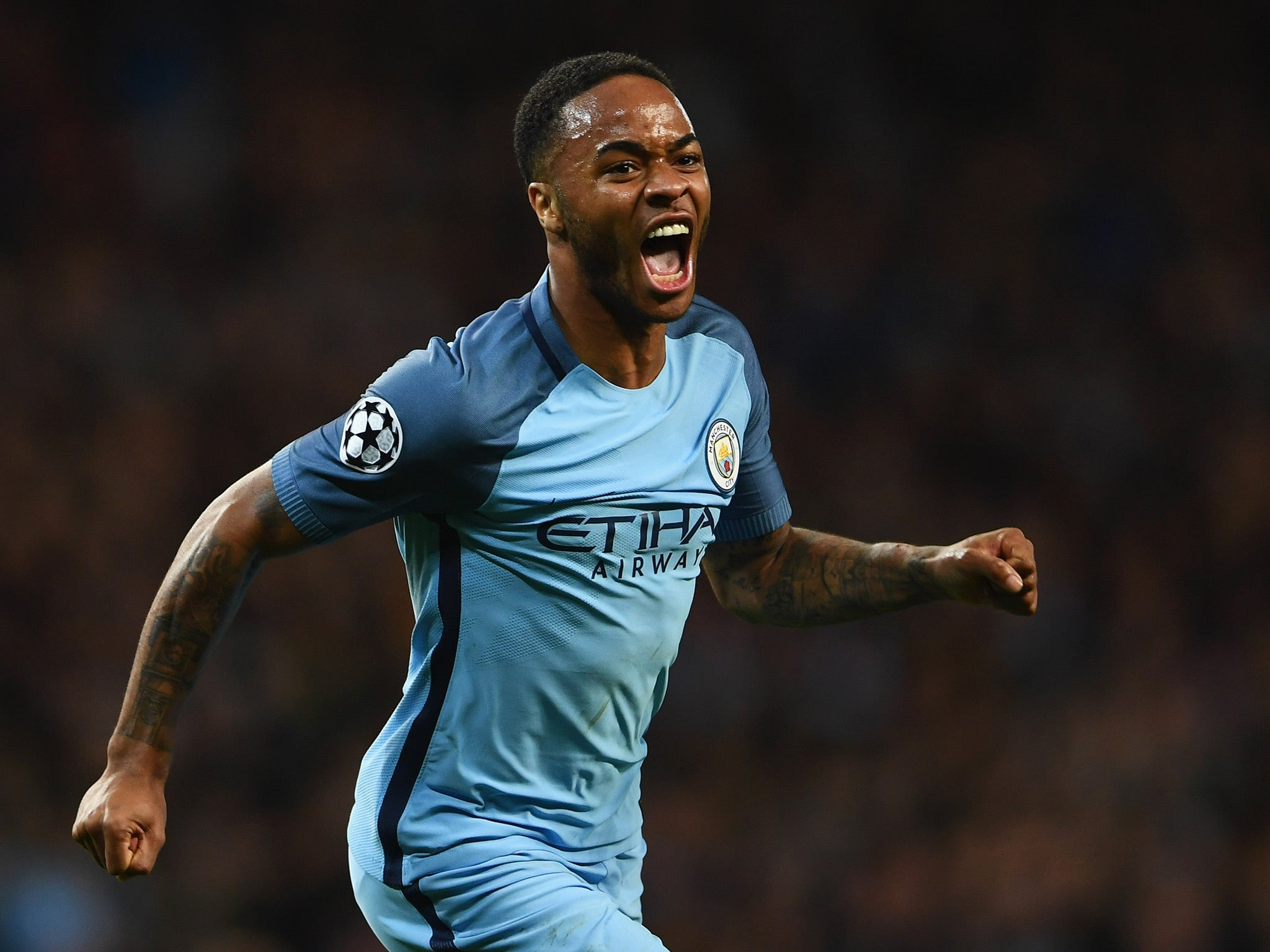 Raheem Sterling thankful for Manchester City victory after