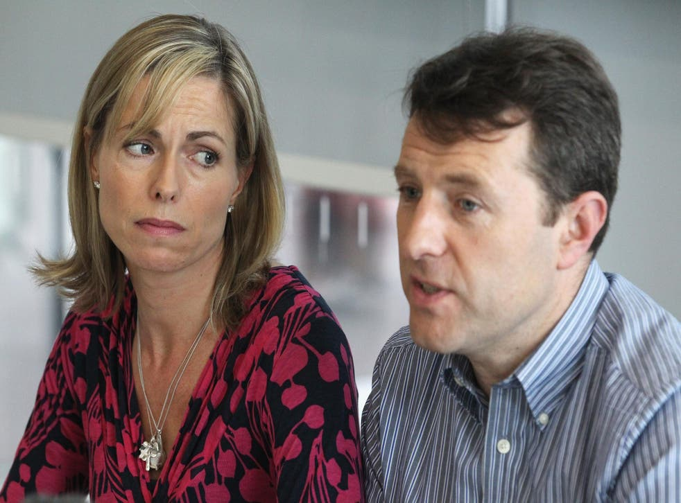 Kate and Gerry McCann are reported to have fallen out with British and Portugese police