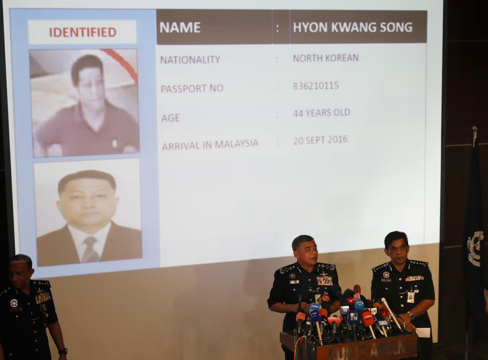 Malaysia's police chief says a North Korean Embassy official is among eight North Korean suspects in last week's fatal poisoning of the half brother of Kim Jong-un