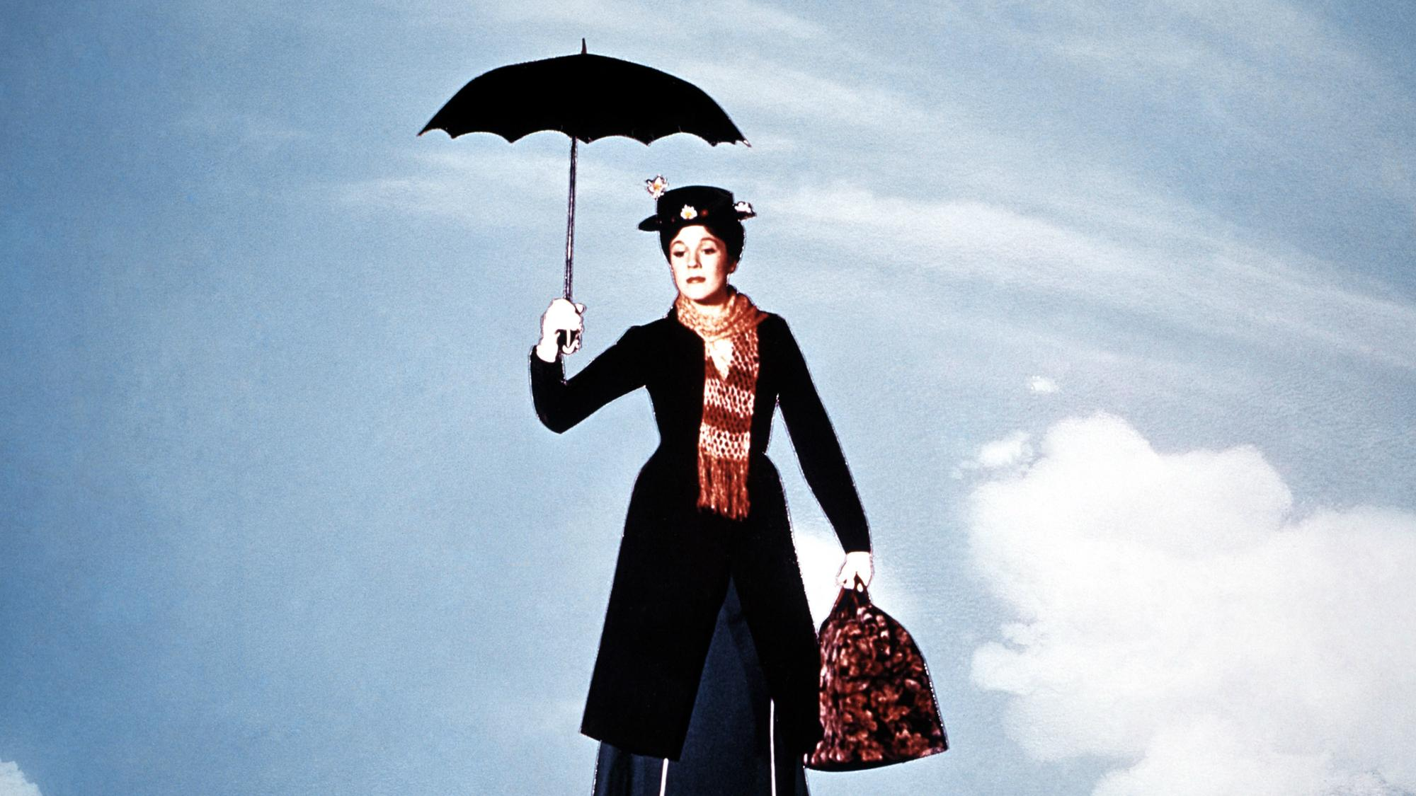 Mary Poppins Julie Andrews Reveals She Nearly Died Filming Iconic Umbrella Scene The Independent The Independent