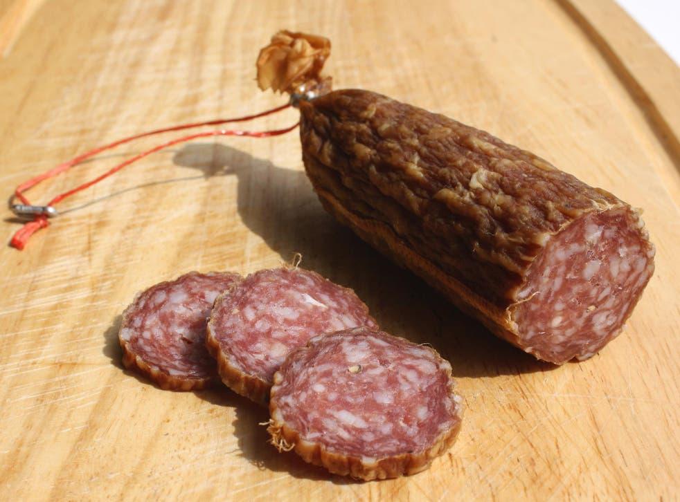 Ahle wurst sausage