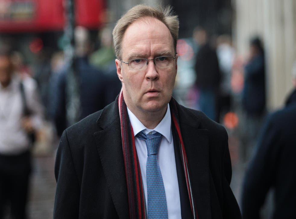 Ex-ambassador to the EU Sir Ivan Rogers