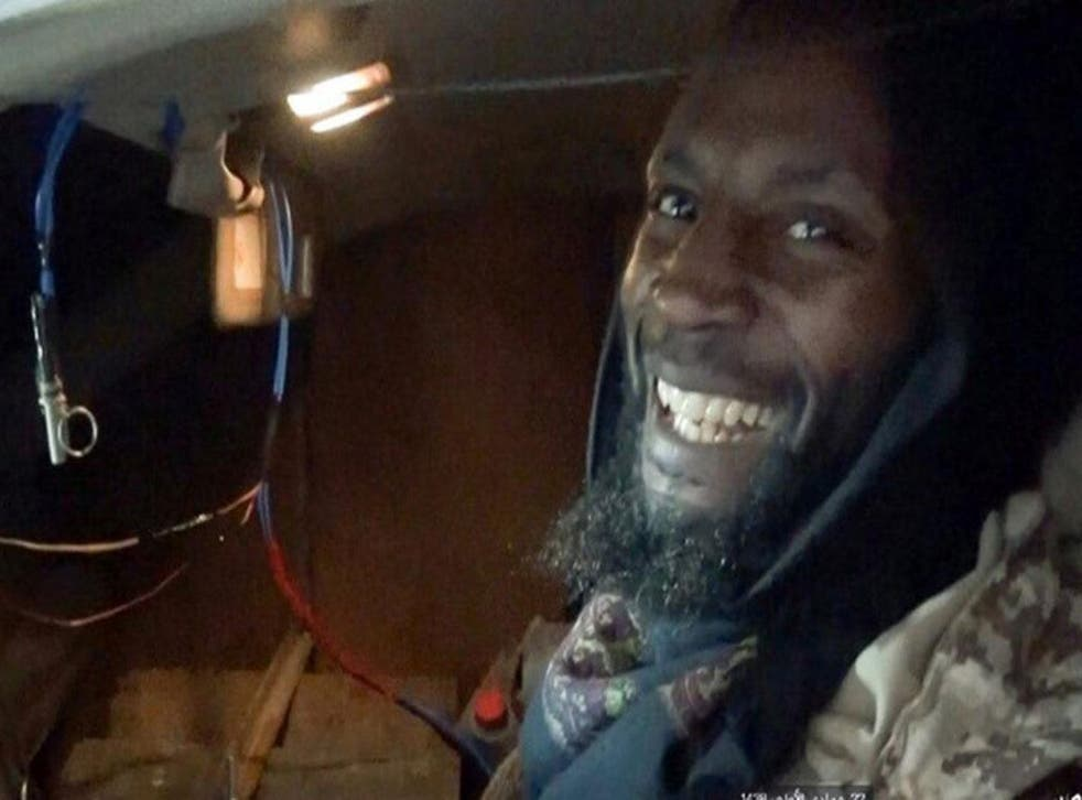 Isis posted a picture purporting to be of Harith grinning in a bomb-laden car shortly before the attack