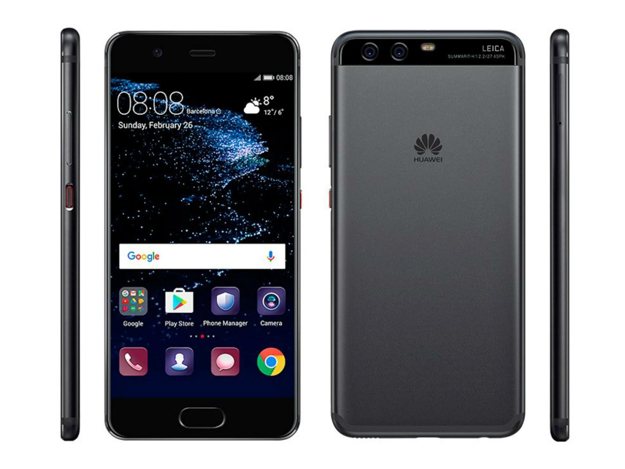 Huawei P10 Launches with AI Touch Technology and Multi-purpose Fingerprint Sensor