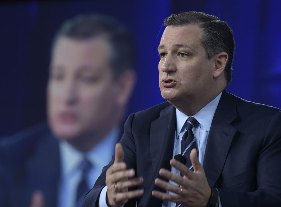 Senator Ted Cruz, who ran against Donald Trump was among the high profile speakers at the conference