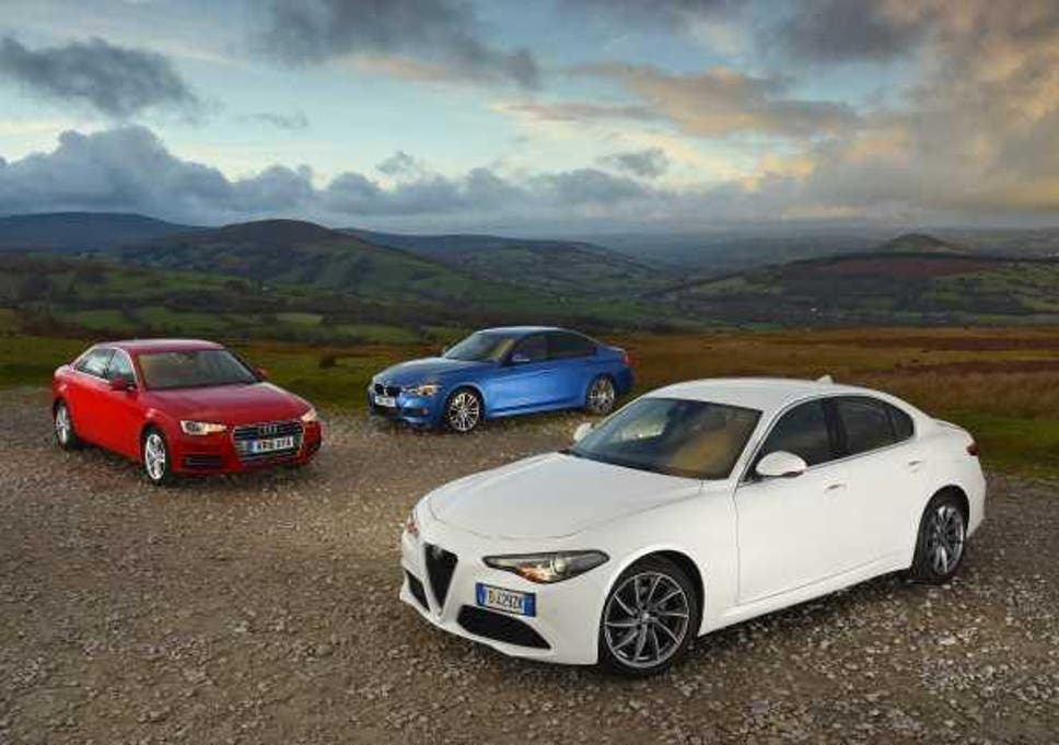 New Alfa Romeo Giulia Meets Audi A4 And Bmw 3 Series The Independent