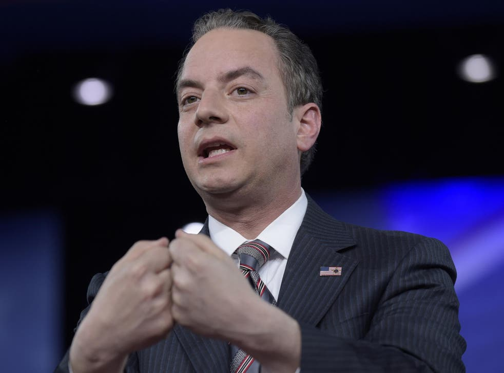White House Chief of Staff Reince Priebus