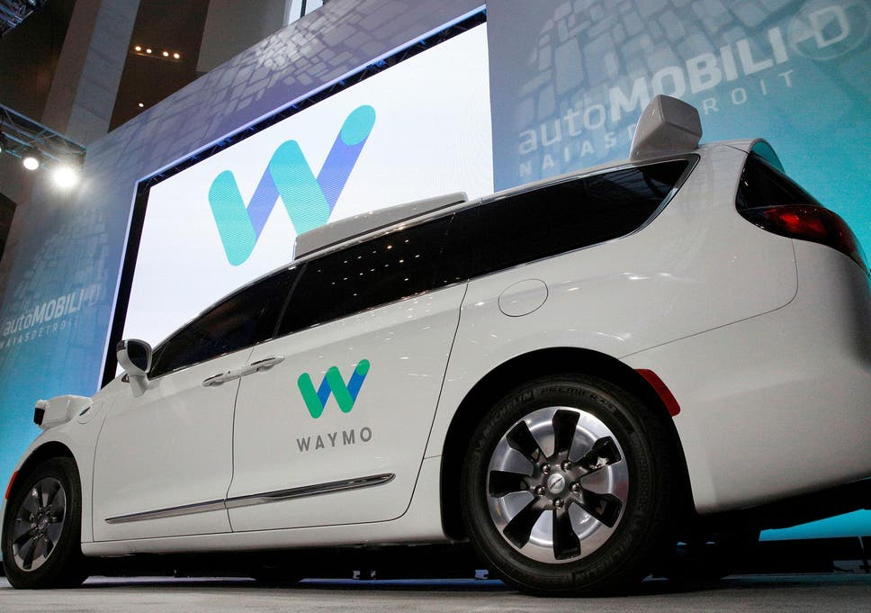 Intel teams up with Waymo's self driving cars | The Independent