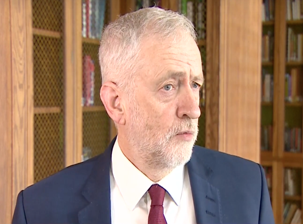 Jeremy Corbyn rejected suggestions that he should stand down