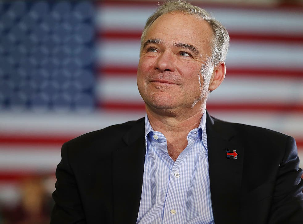 Kaine said that Trump withdrew from the Paris accord because he's 'jealous' of Obama