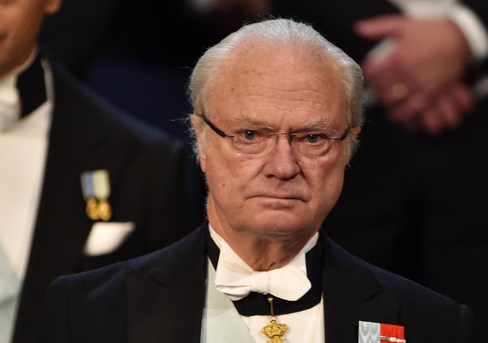 Kung Gustaf VI Adolf med prins Carl Gustaf - Pinterest