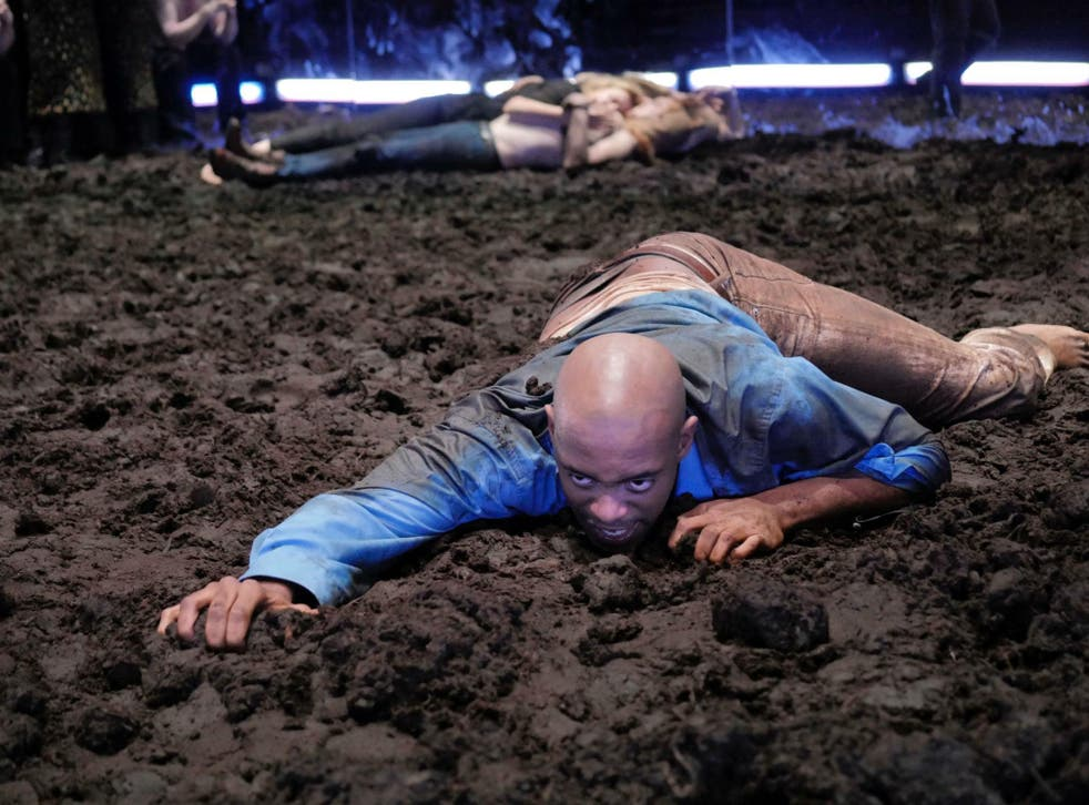 John Dagleish (Lysander) in 'A Midsummer Night's Dream' at the Young Vic