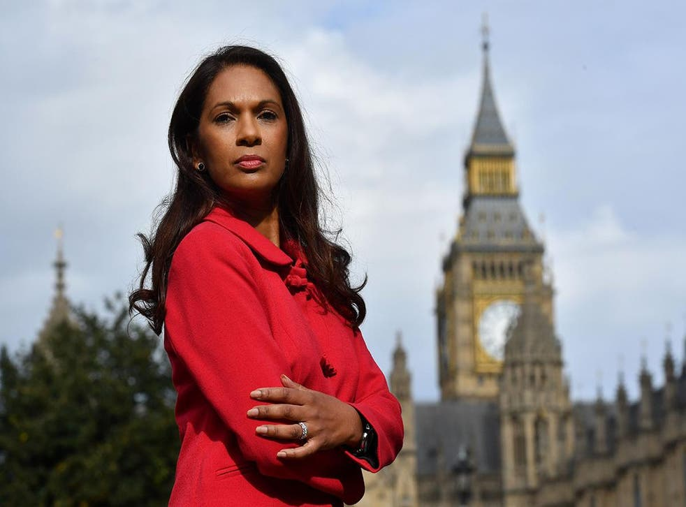 Anti-Brexit campaigner Gina Miller called on the Lords to show 'backbone' in the debate over the Brexit Bill this week