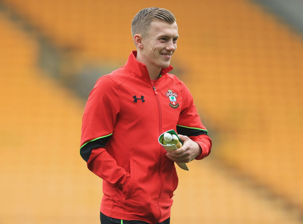 Ward-Prowse has said his team have nothing to fear against United