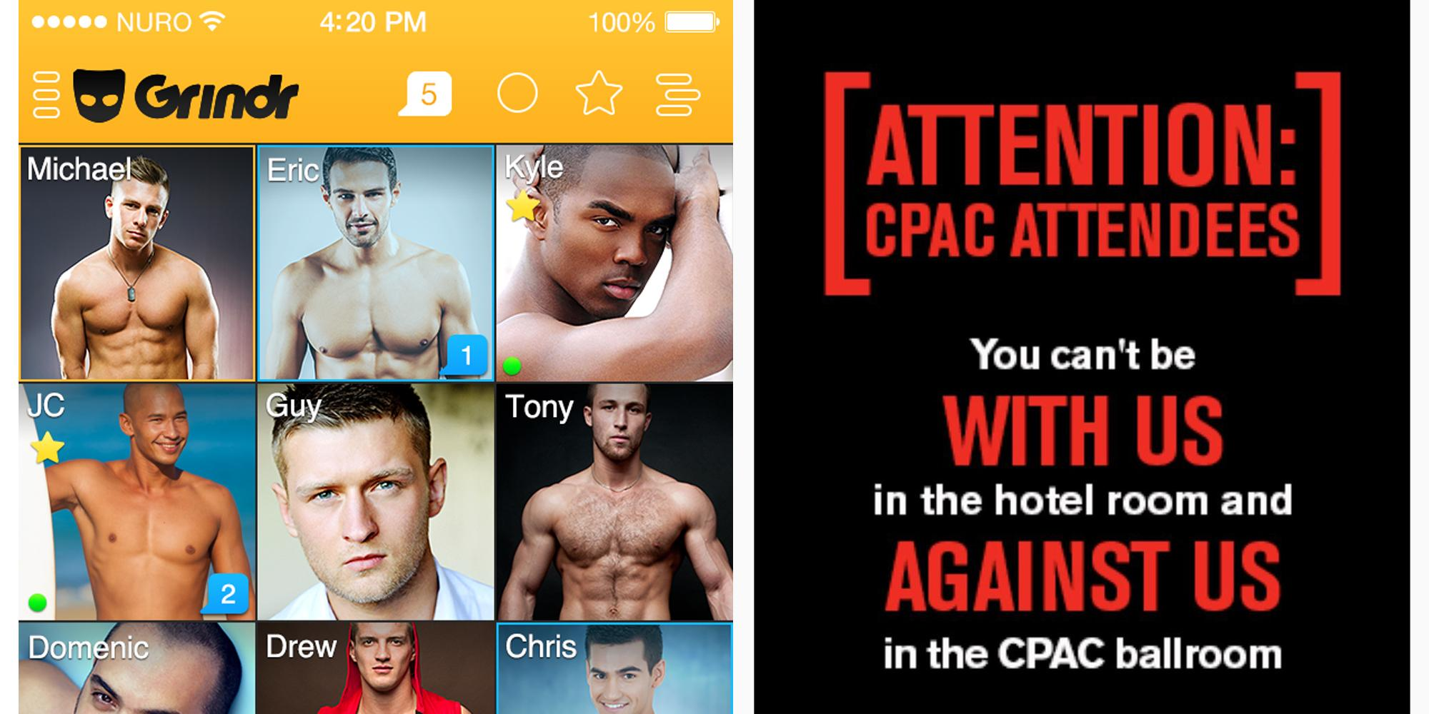 The Human Rights Campaign trolled Republicans at CPAC with an ad on …