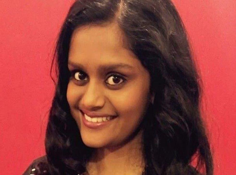 Shiromini Satkunarajah came to the UK as a child during the Sri Lankan Civil War