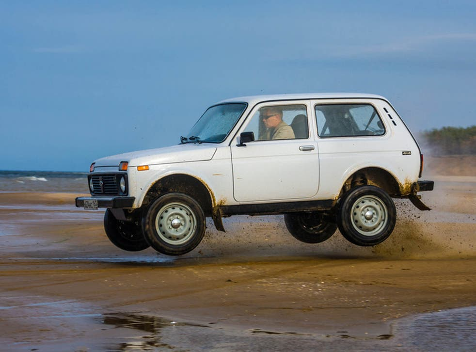 The rugged Lada Niva first took to the road in 1977 – and 40 years on it's still going strong