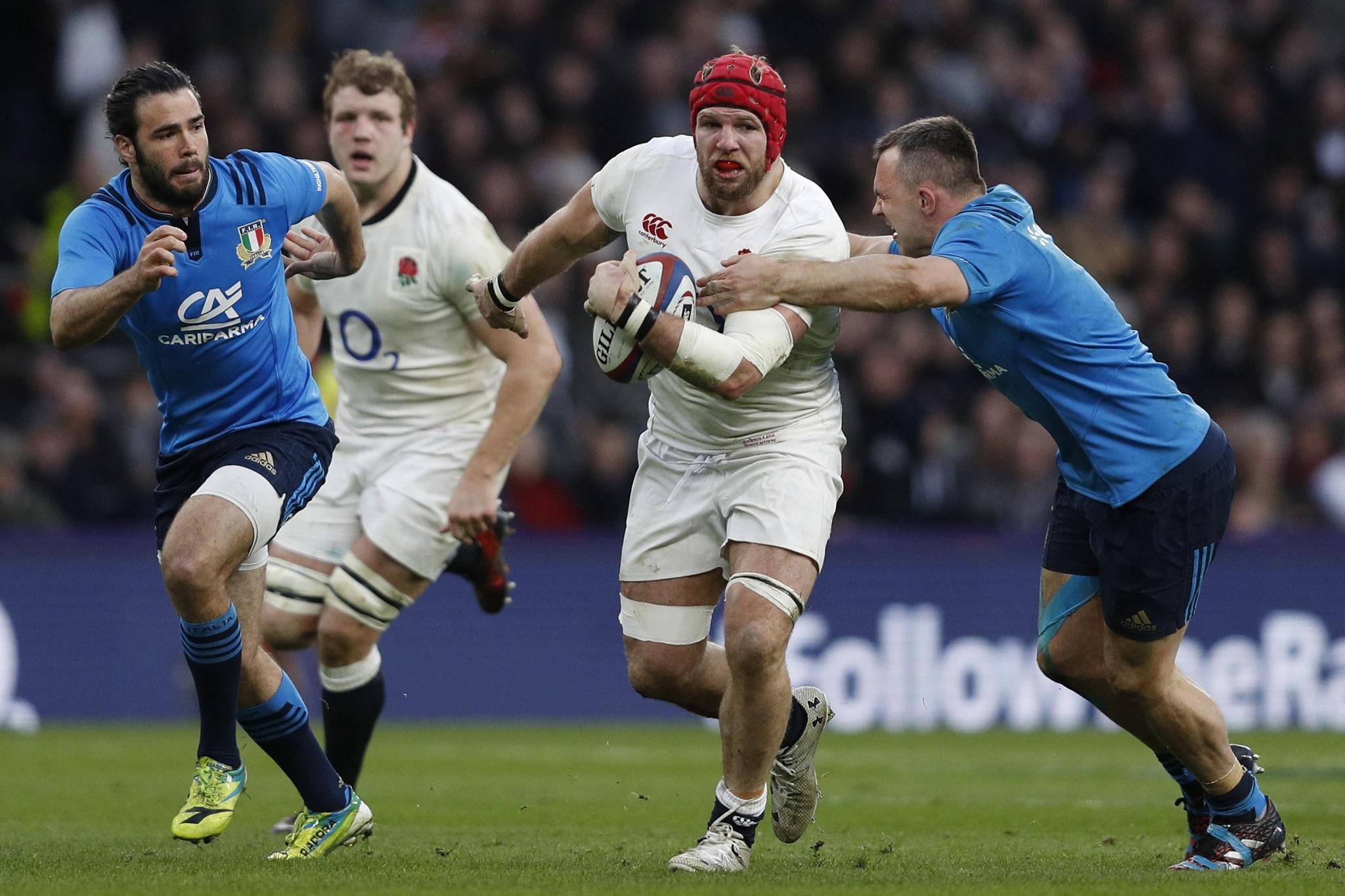 c0113a6f7fe James Haskell defends his questioning of referee Romain Poite after England  were left 'rattled' by Italy tactics | The Independent