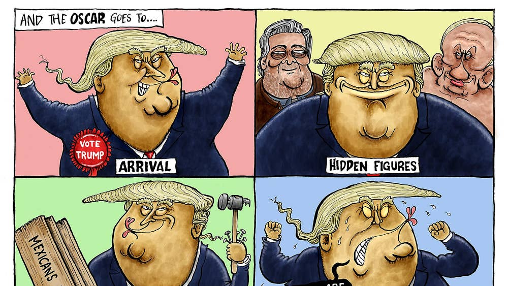 Cartoonist Michael De Adder Lost Work After Drawing An Offensive
