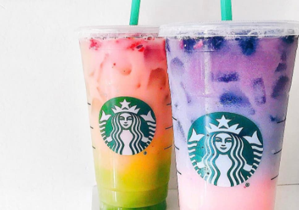 Ombre Rainbow Drink New Secret Starbucks Drink Goes Viral