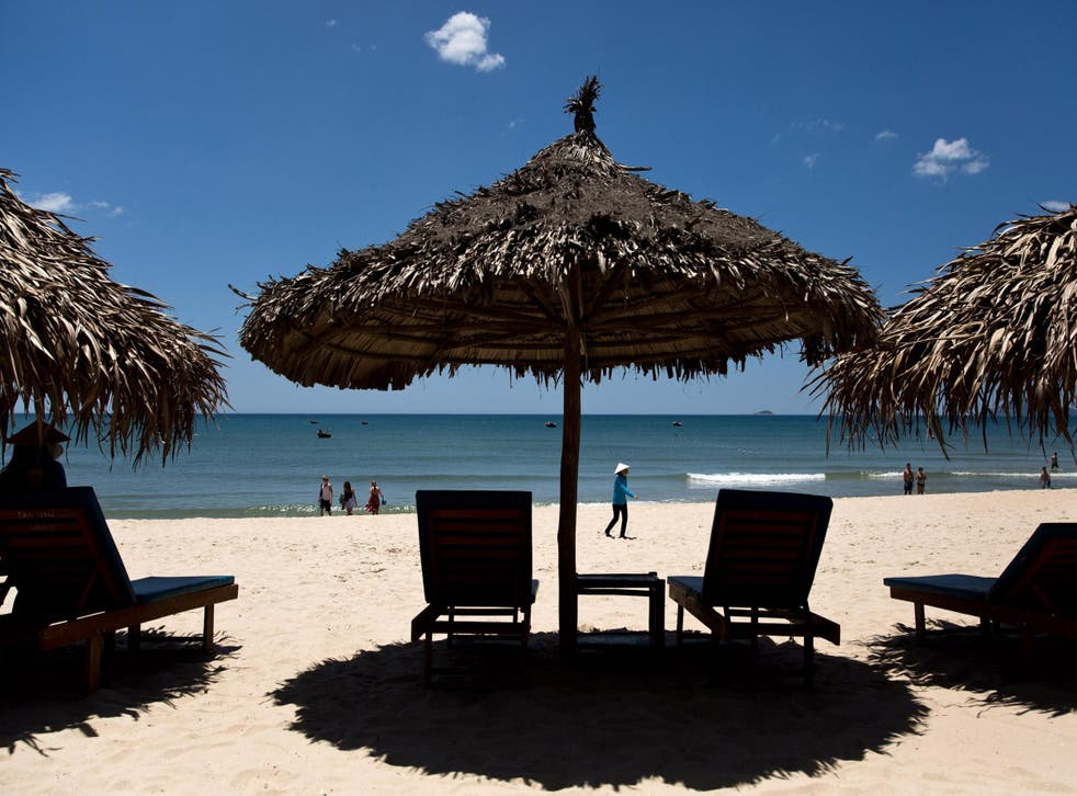 The beaches of Hoi An are perfect for a sunny Vietnamese March break