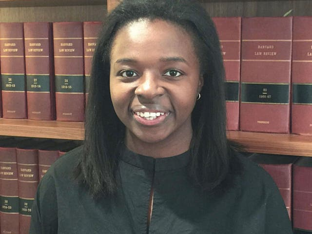 ImeIme Umana, 24, a daughter of Nigerian immigrants, said she now dreams to become a public defender