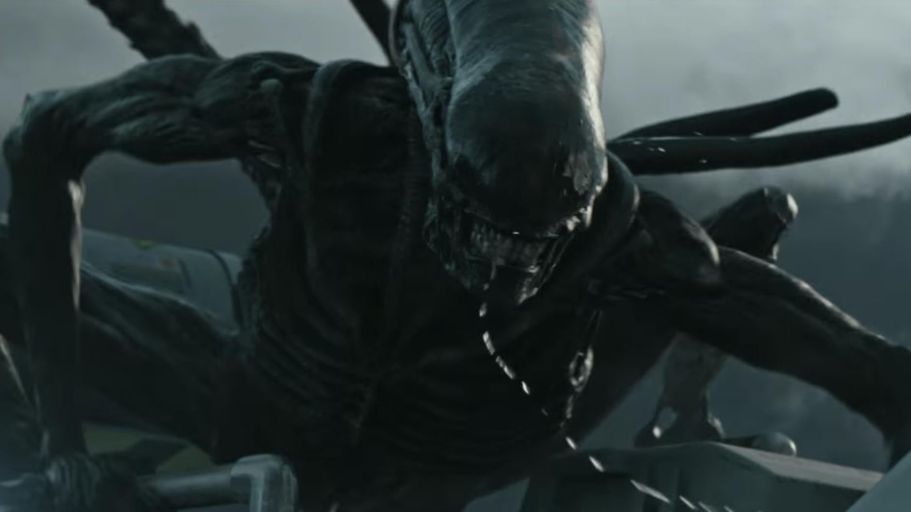 alien covenant trailer gives the xenomorph its time to shine