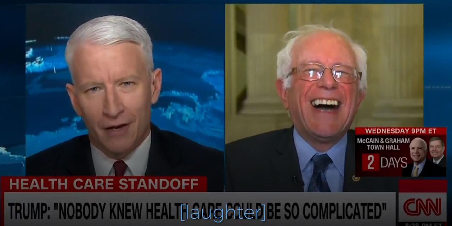 Affordable Health Insurance >> This Bernie Sanders moment is the greatest healthcare meme of all time | indy100