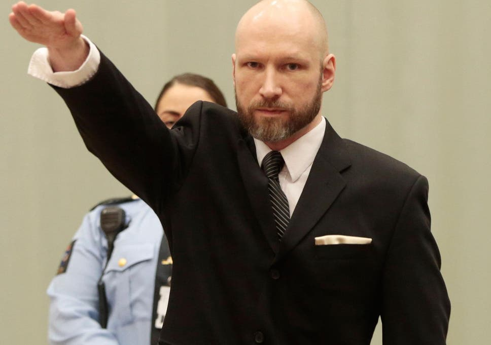The Norwegian Mass Murderer Has Repeatedly Performed The Nazi Salute During Court Appearances