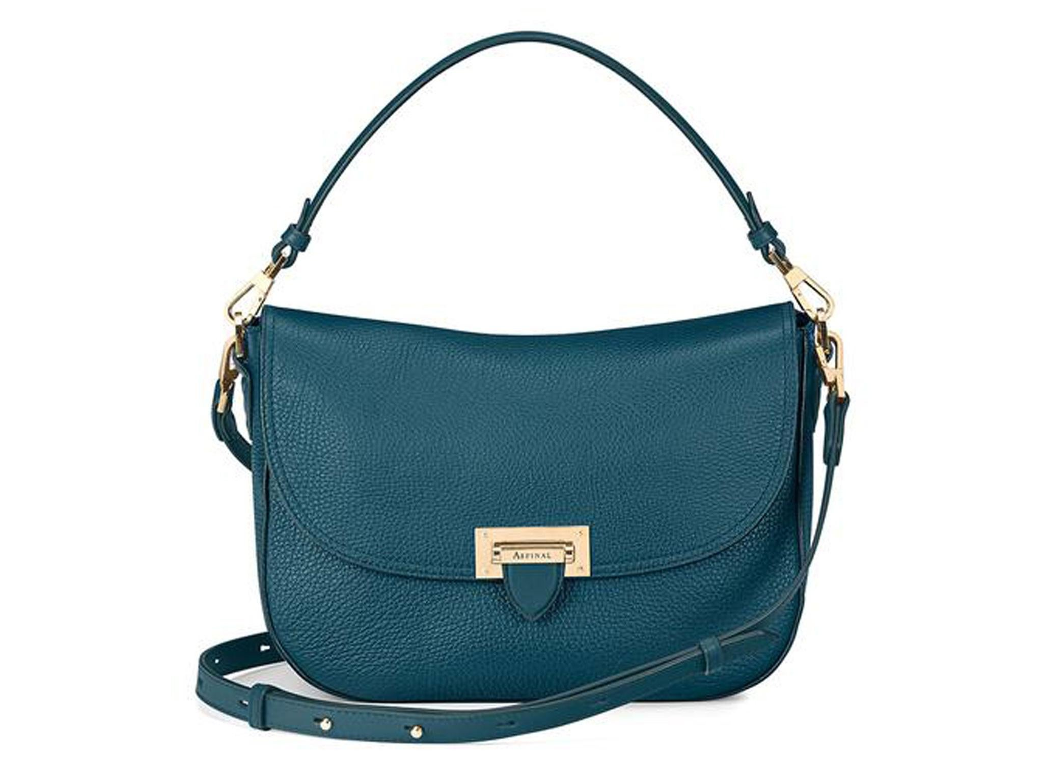 cff77bad026 Aspinal The Letterbox Slouchy Saddle Bag  £495, Aspinal of London