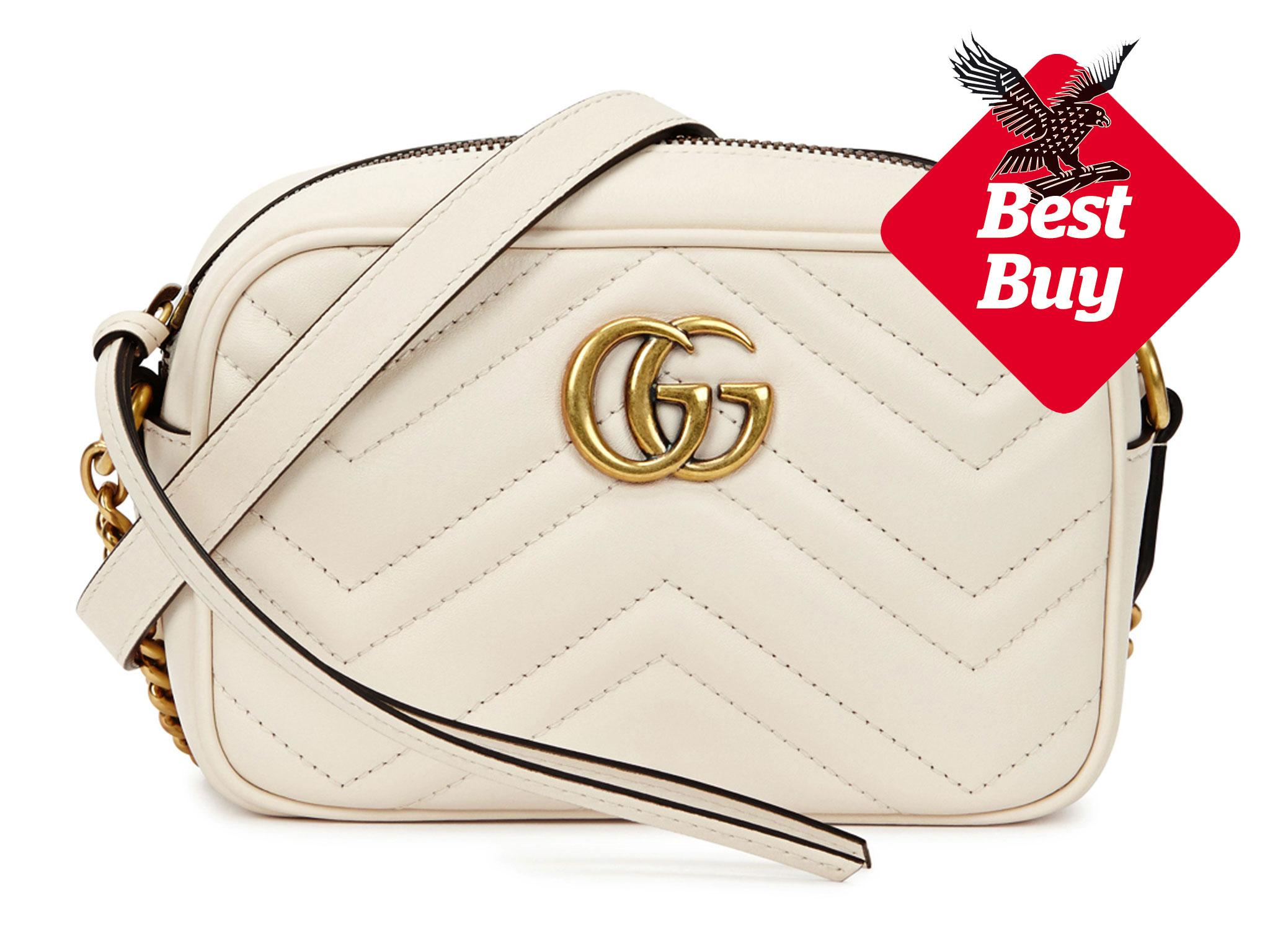 6c6179043d7 Gucci Marmont Mini Shoulder Bag: £640, Harvey Nichols
