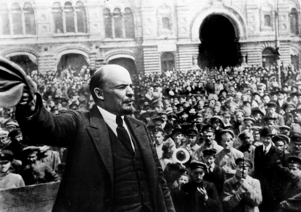 Can putins divided russia be reconciled in remembrance as it marks lenin in 1917 while the revolution brought benefits including education to those at fandeluxe Choice Image