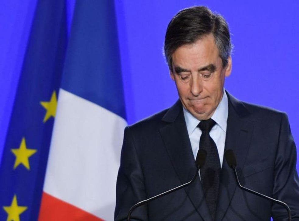 Mr Fillon apologised for the 'anti-Semitic' image posted on his party's Twitter page, saying it went against his values and pledging those behind it would face sanctions