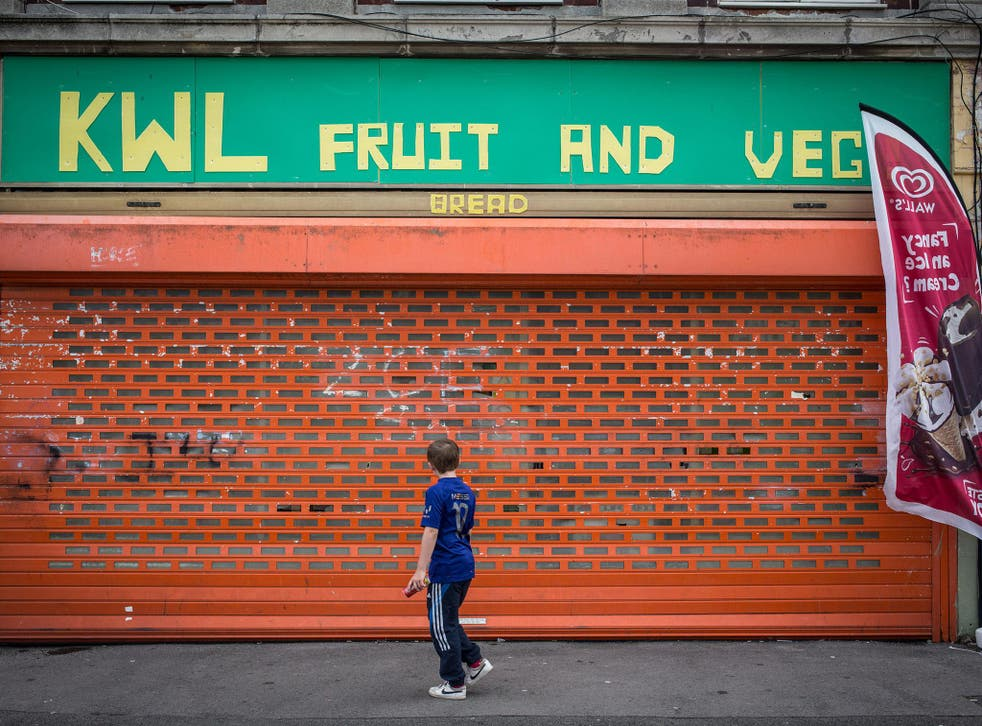 <p>Polling shows that 45 per cent of households with children - or 3.6 million families - have been forced into debt since March</p>