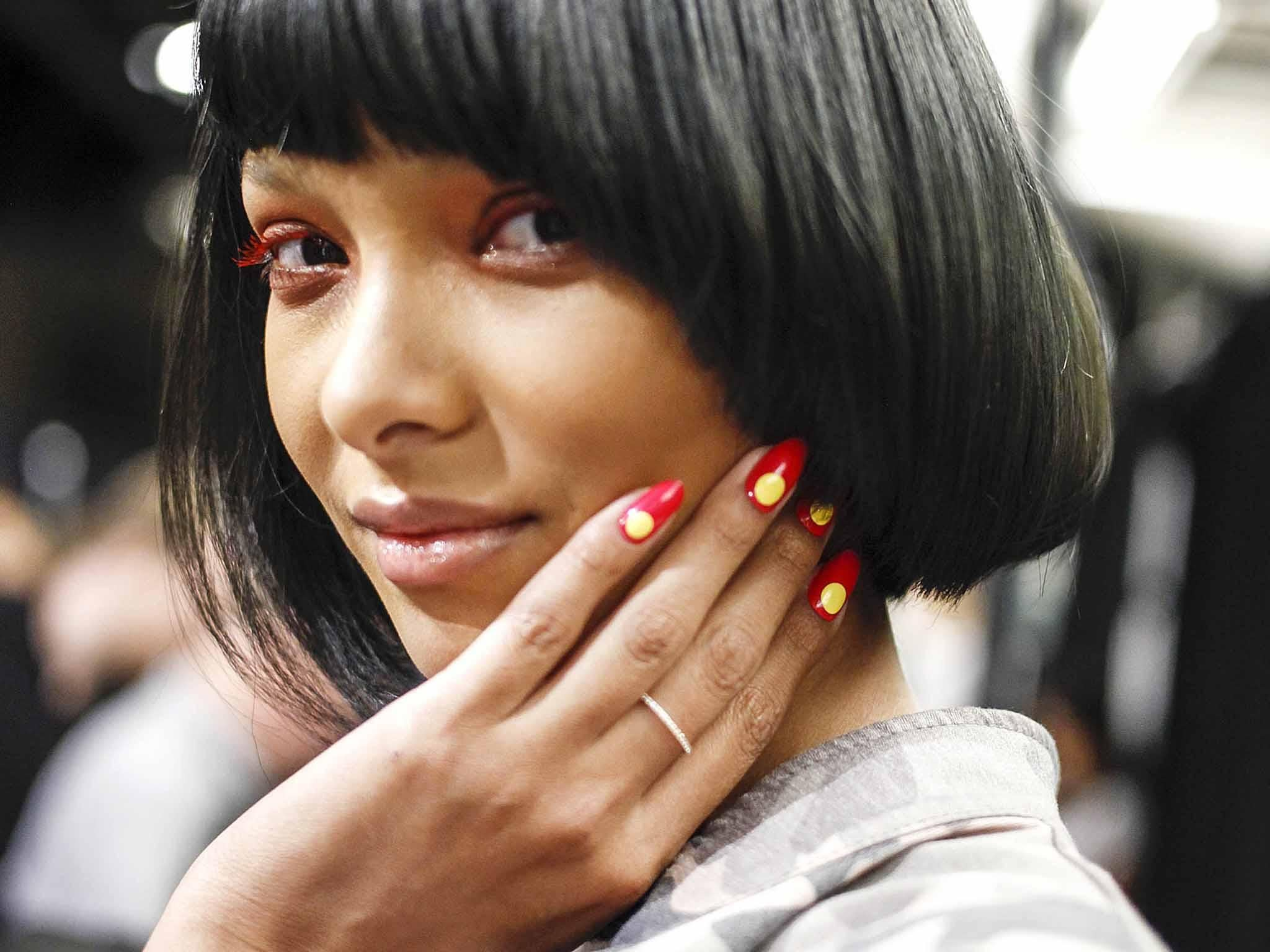 The red manicure is spring/summer's hottest nail trend