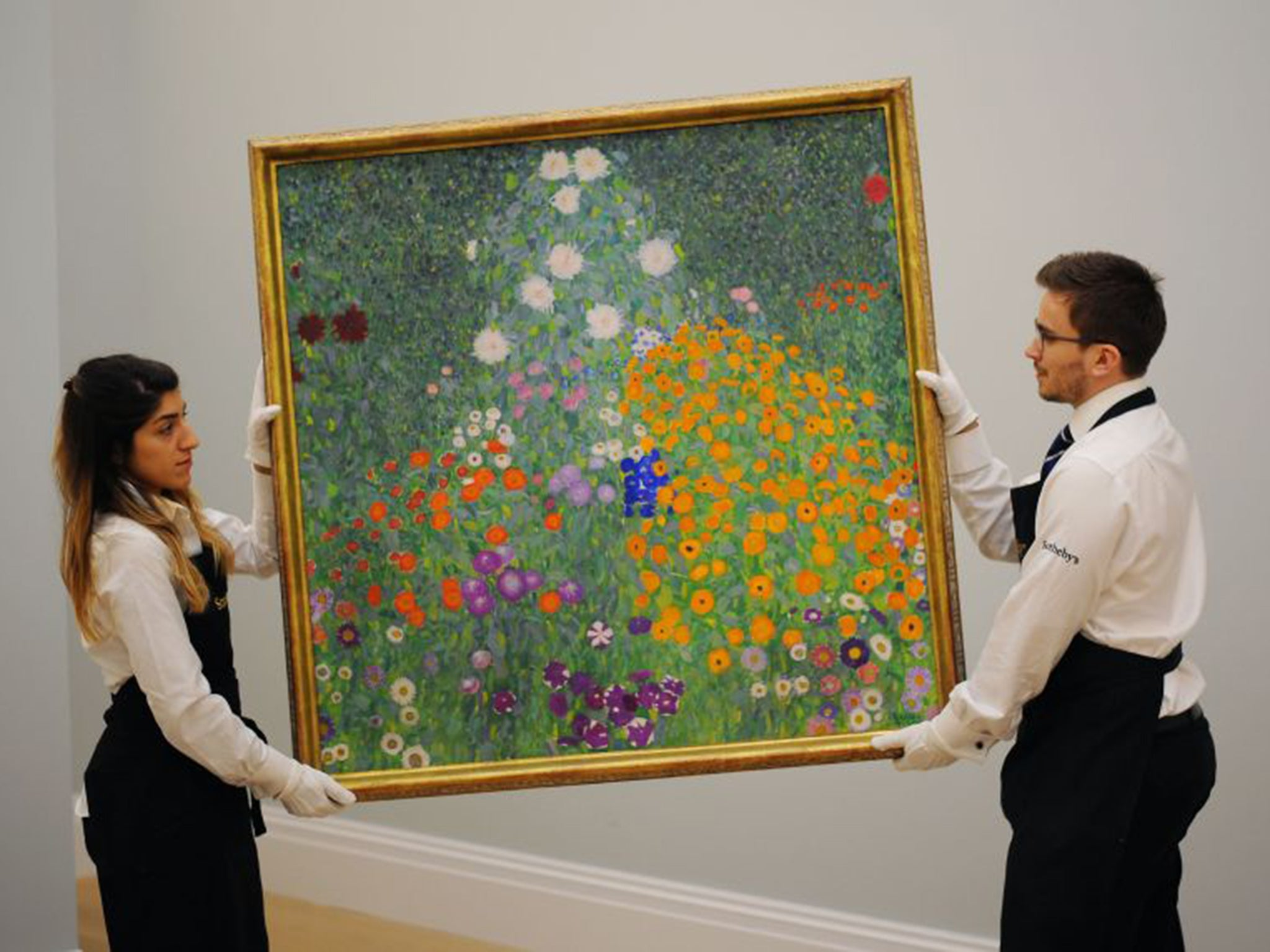 Gustav Klimt painting sells for £48m at Sotheby's underscoring resilience of high-end fine art market