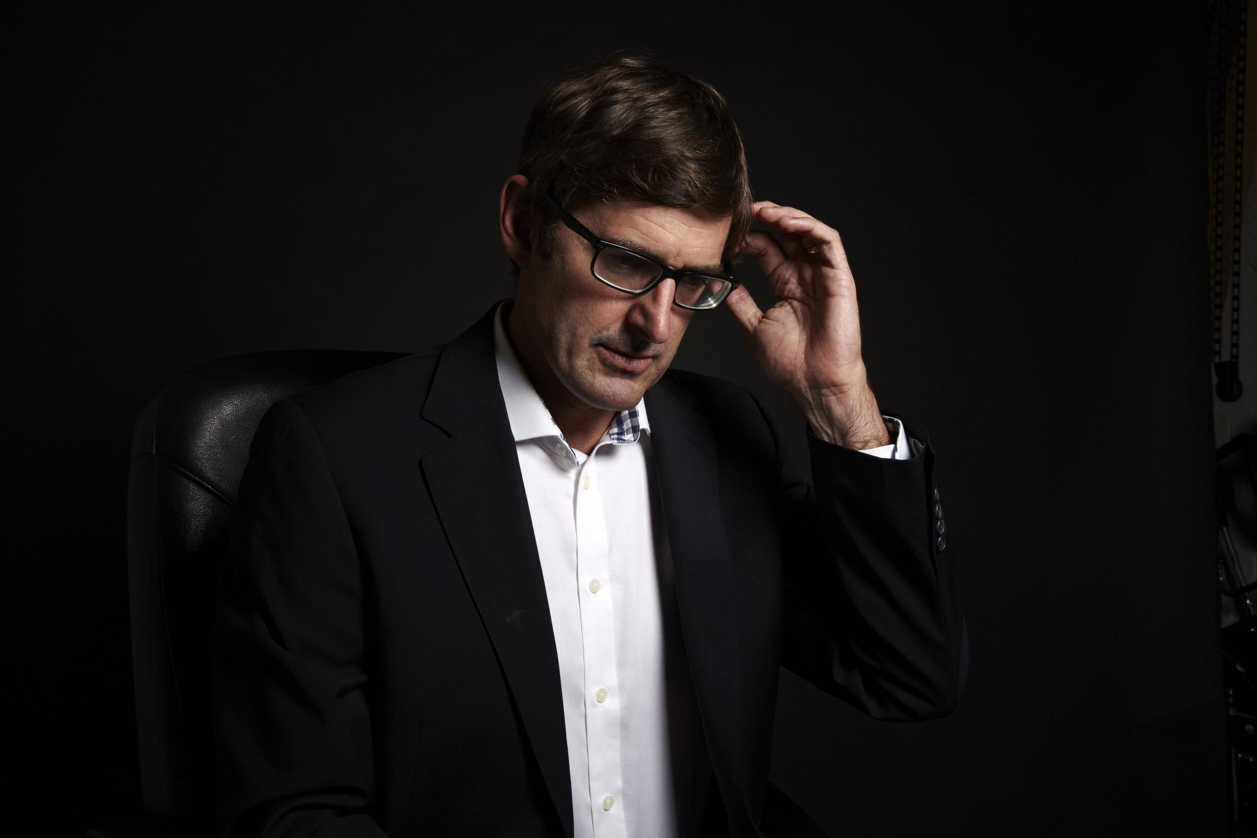 Louis Theroux says he's still 'haunted' by Jimmy Savile experience