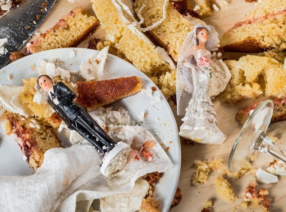 Amy Thorne has to pick up the pieces when weddings go wrong